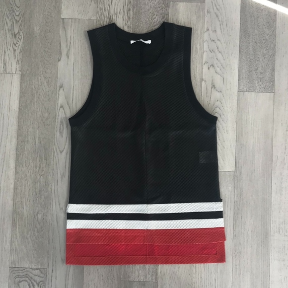 41be203084da2 Givenchy Other - Givenchy Perforated Leather Tank Top - M